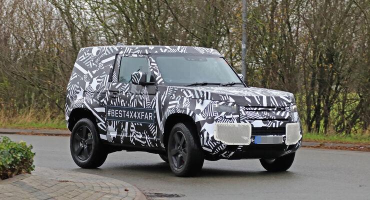 Erlkönig Land Rover Defender 90