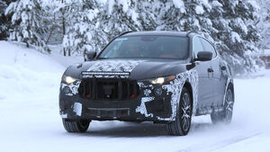 Erlkönig Maserati Levante GTS
