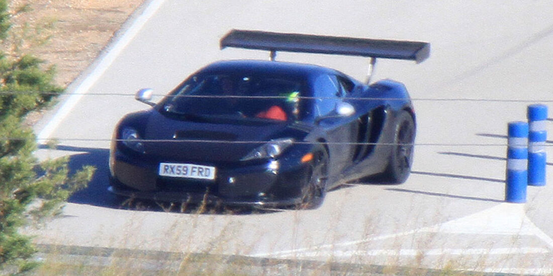 Erlkönig McLaren MP4-C12