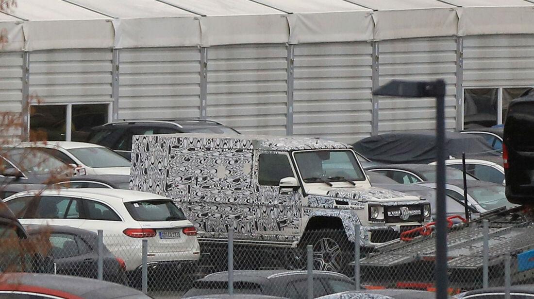 Erlkönig Mercedes 4x4 lang