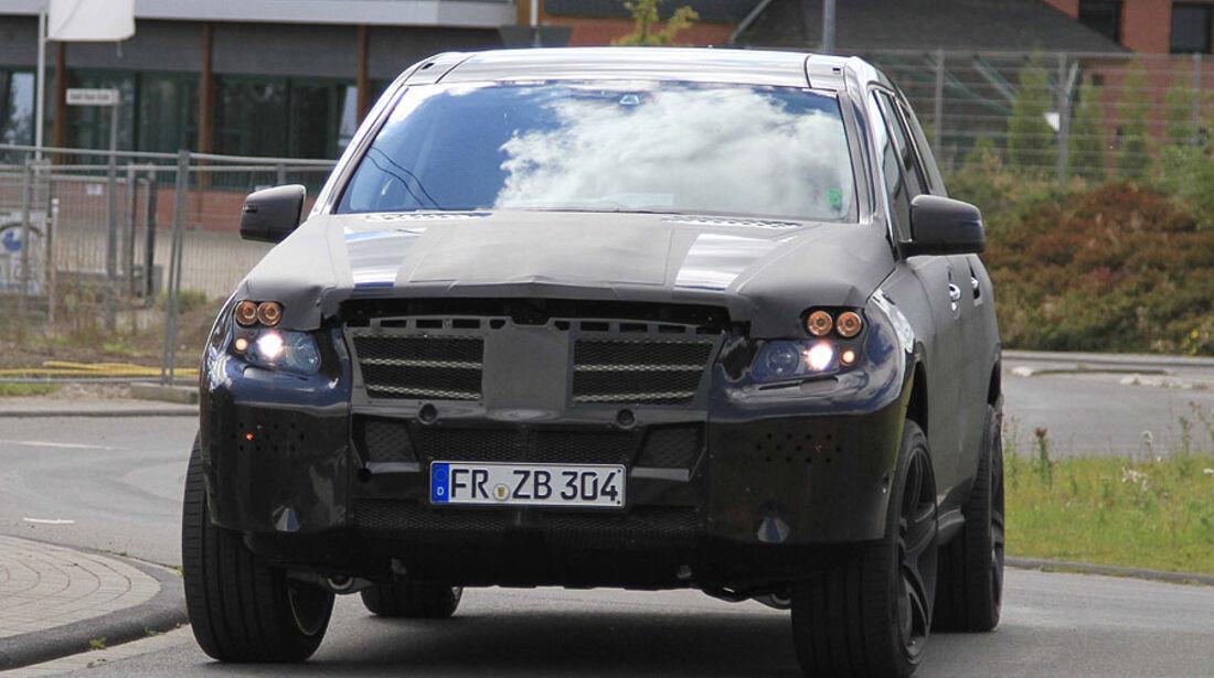 Erlkönig Mercedes-Benz GL 63 AMG