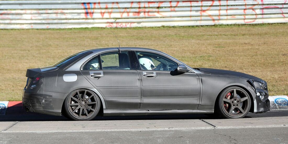 Erlkönig Mercedes C 63 AMG