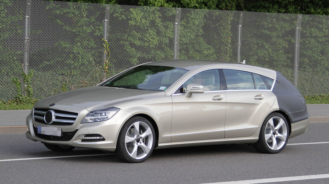 Erlkönig Mercedes CLS Shooting Brake