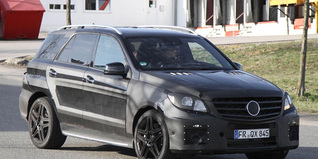 Erlkönig Mercedes ML 63 AMG