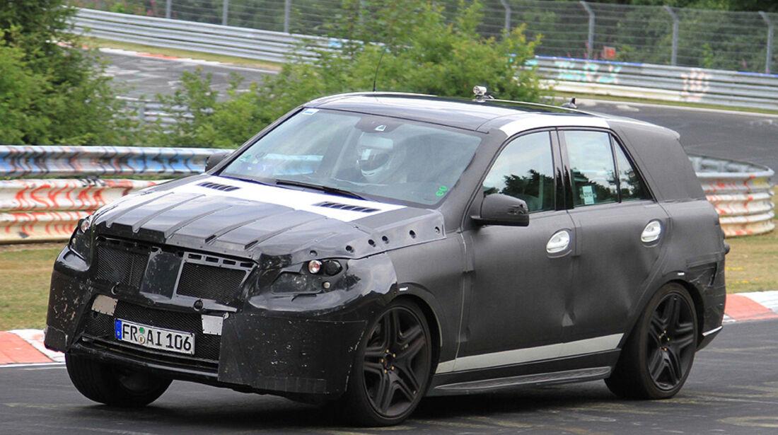 Erlkönig Mercedes ML AMG