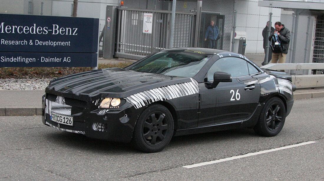 Erlkönig Mercedes SLK