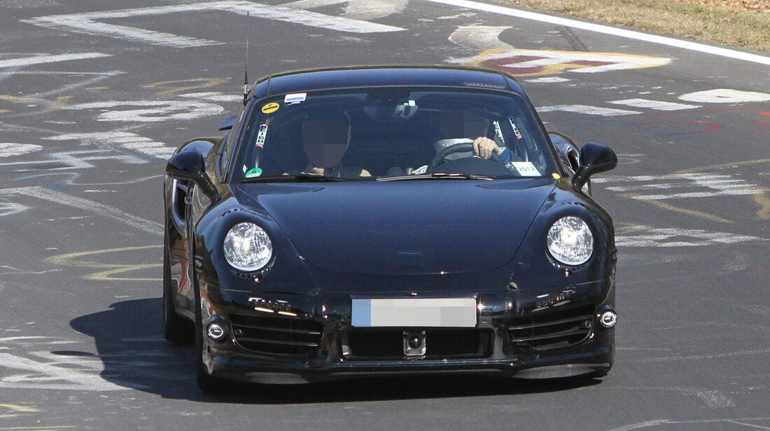 Erlkönig Porsche 911 Turbo 991