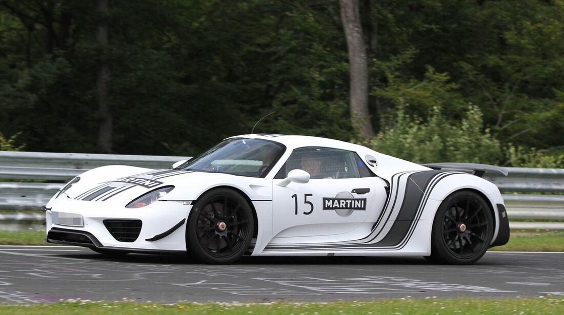 Erlkönig Porsche 918