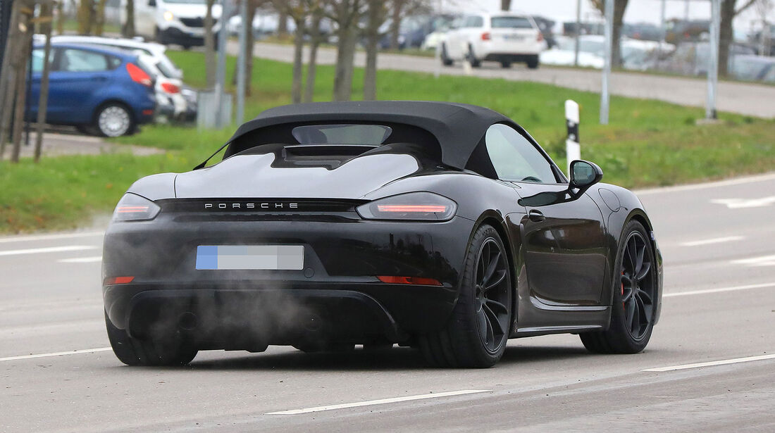 Erlkönig Porsche Boxster Spyder