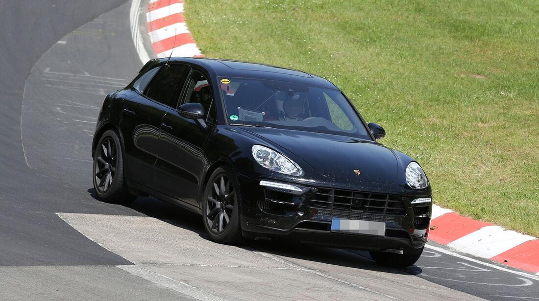 Erlkönig Porsche Macan Turbo