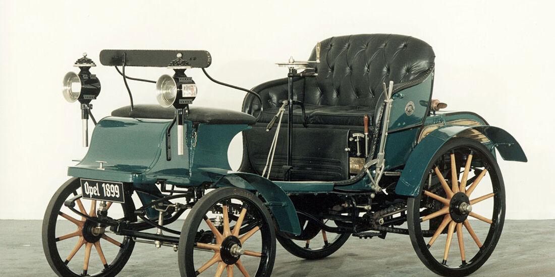 Erster Opel Der Patent Motorwagen System Lutzmann