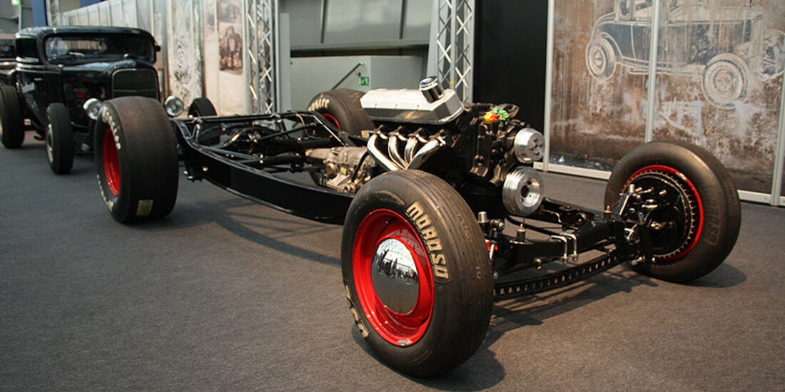 Essen Motor Show 2011, Hot-Rod-Chassis