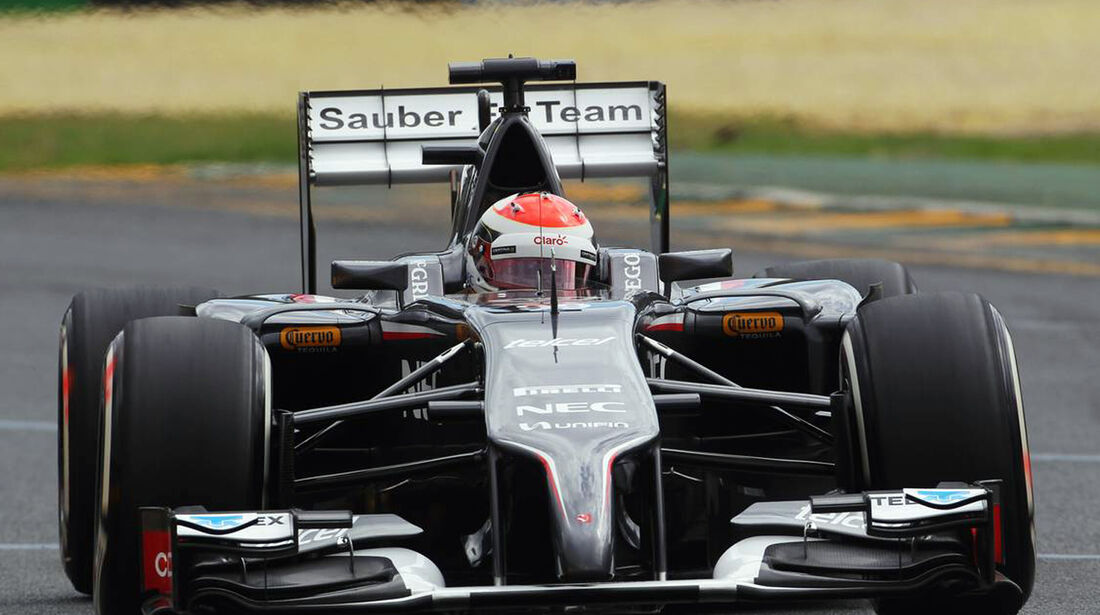 Esteban Gutierrez  - Formel 1 - GP Australien - 15. März 2014