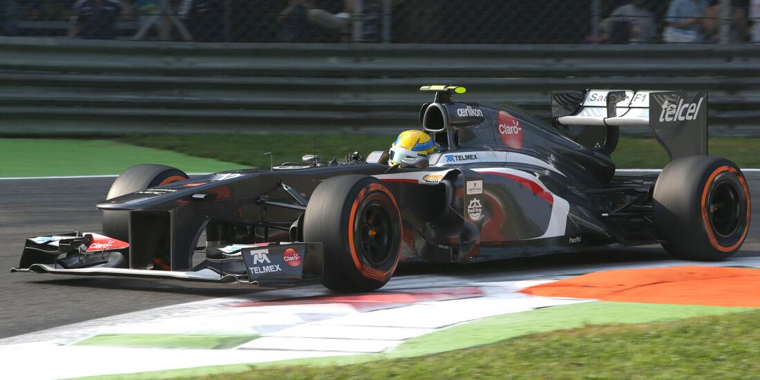 Esteban Gutierrez - GP Italien 2013