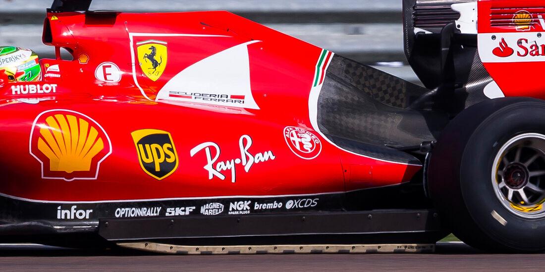 Esteban Gutierrez - Pirelli 2017 Reifen-Test - Fiorano - 2. August 2016