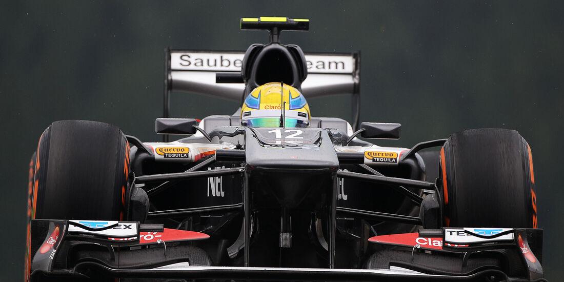 Esteban Gutierrez - Sauber - Formel 1 - GP Belgien - Spa Francorchamps - 23. August 2013