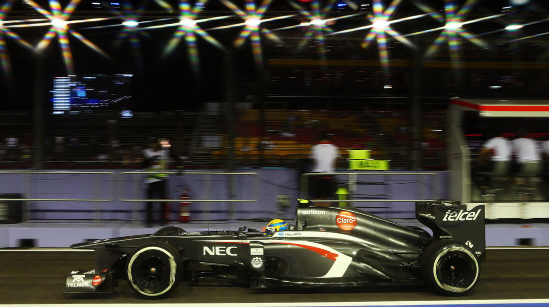 Esteban Gutierrez - Sauber - Formel 1 - GP Singapur - 20. September 2013