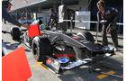 Esteban Gutierrez, Sauber, Formel 1-Test, Jerez, 7.2.2013