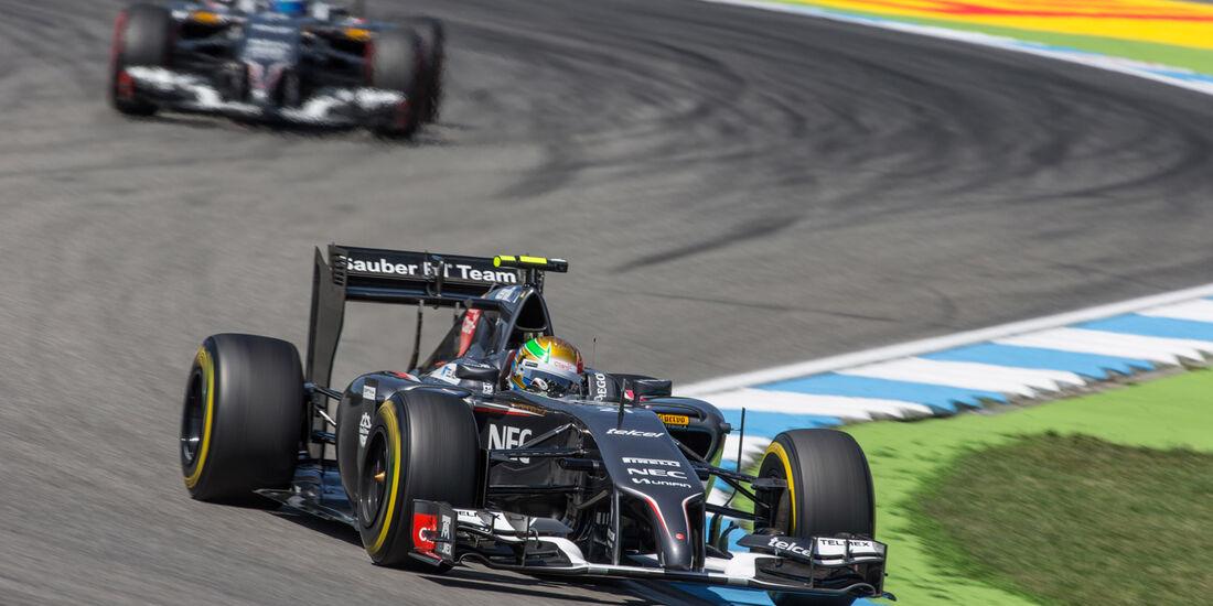 Esteban Gutierrez - Sauber - GP Deutschland 2014