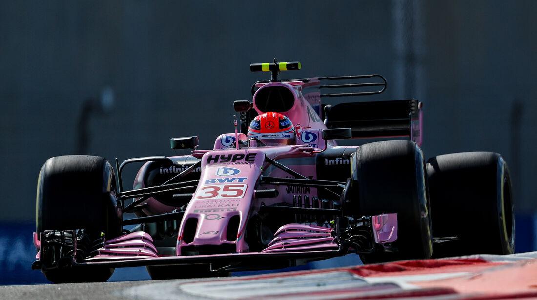 Esteban Ocon - Force India - Formel 1 - GP Abu Dhabi - 24. November 2017