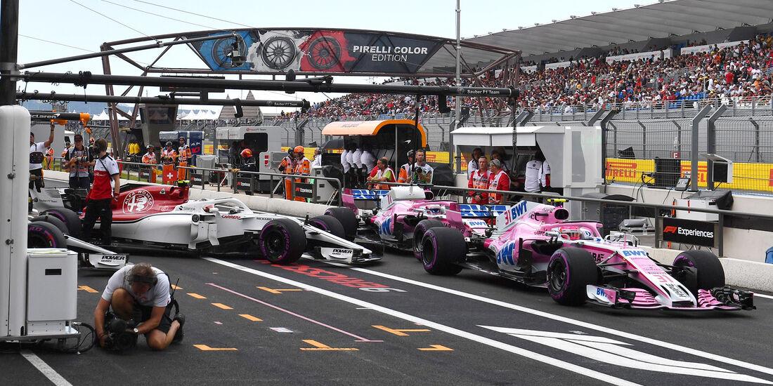 Esteban Ocon - Force India - Formel 1 - GP Frankreich - Circuit Paul Ricard - Le Castellet - 23. Juni 2018