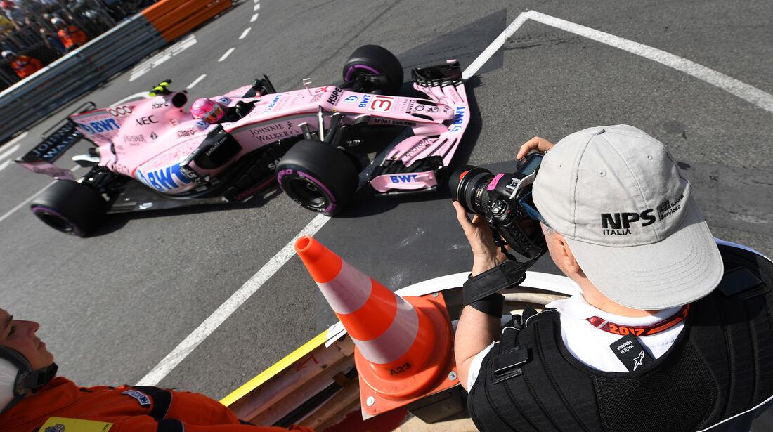 Esteban Ocon - Force India - Formel 1 - GP Monaco - 25. Mai 2017