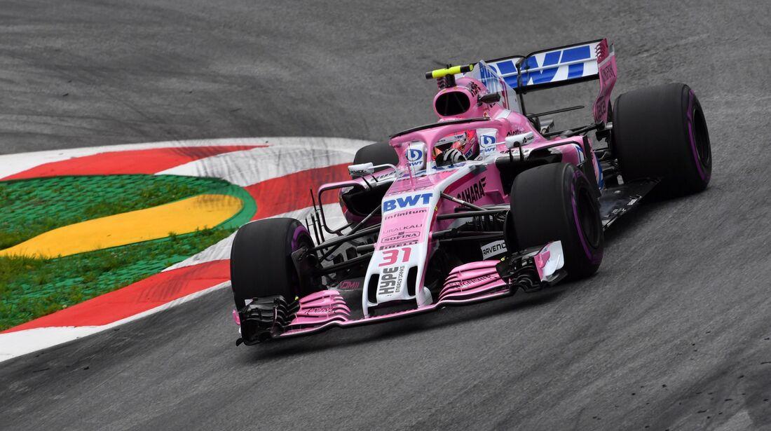 Esteban Ocon - Force India - Formel 1 - GP Österreich - 29. Juni 2018