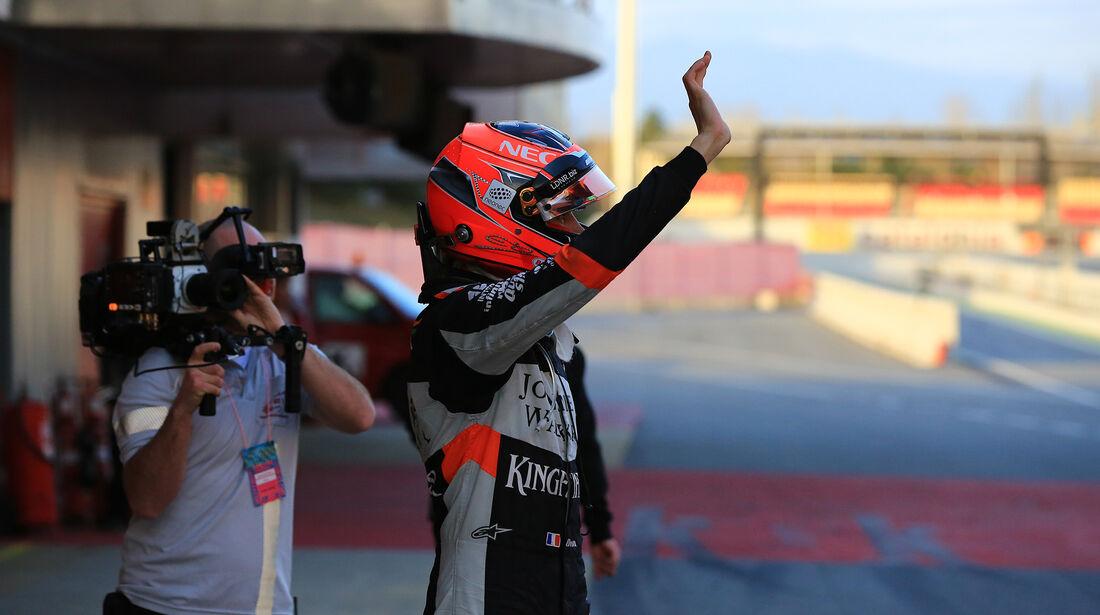 Esteban Ocon - Force India - Formel 1 - Test - Barcelona - 7. März 2017
