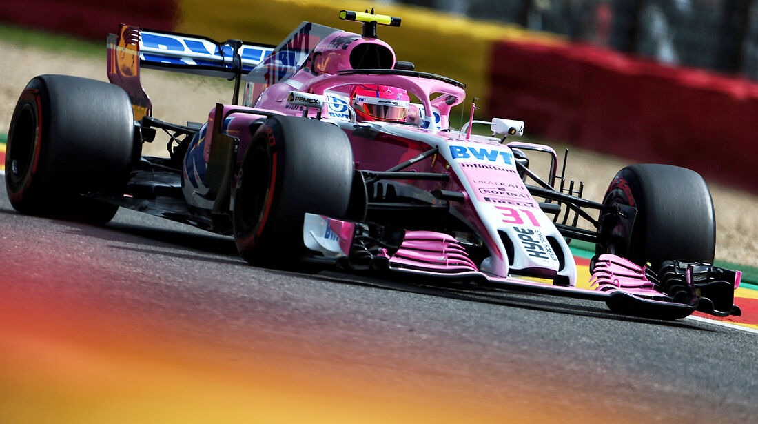 Esteban Ocon - Force India - GP Belgien - Spa-Francorchamps - 24. August 2018