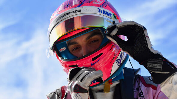 Esteban Ocon - GP USA 2018