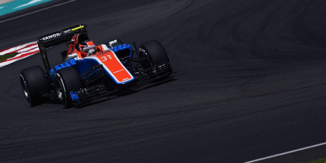 Esteban Ocon - Manor - Formel 1 - GP Malaysia - Freitag - 30.9.2016