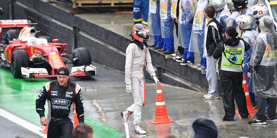 Esteban Ocon - Manor - GP Brasilien 2016 - Interlagos - Rennen