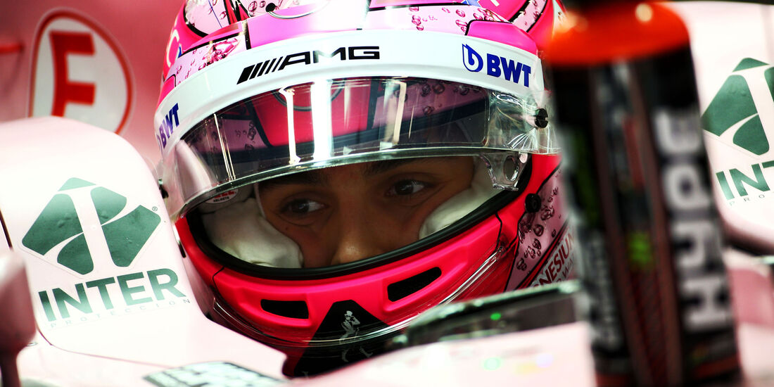 Esteban ocon - Force India - Formel 1 - GP China 2017 - Shanghai - 7.4.2017