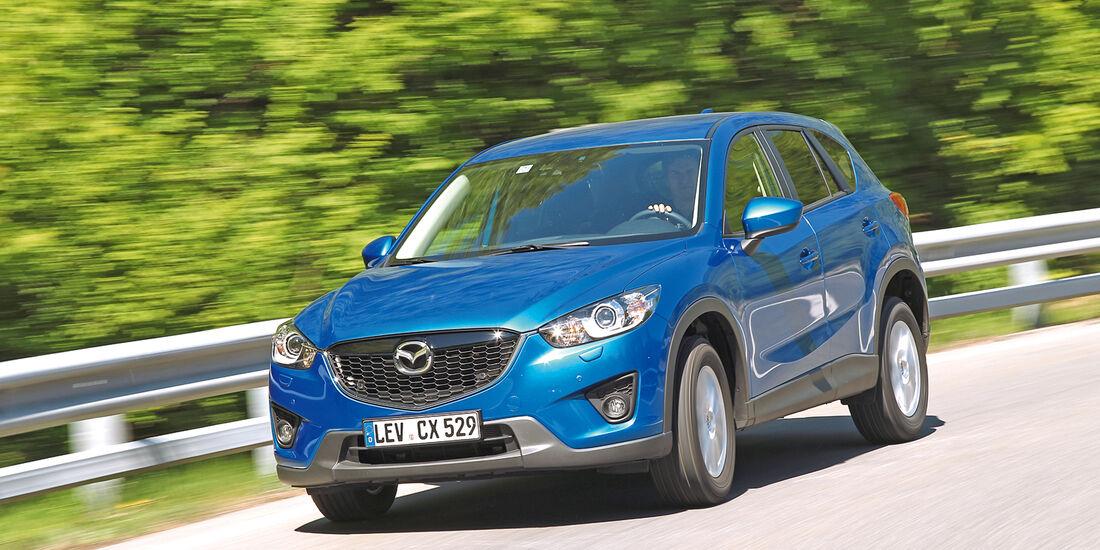 Euro-6-Neuzulassungen, Mazda CX-5