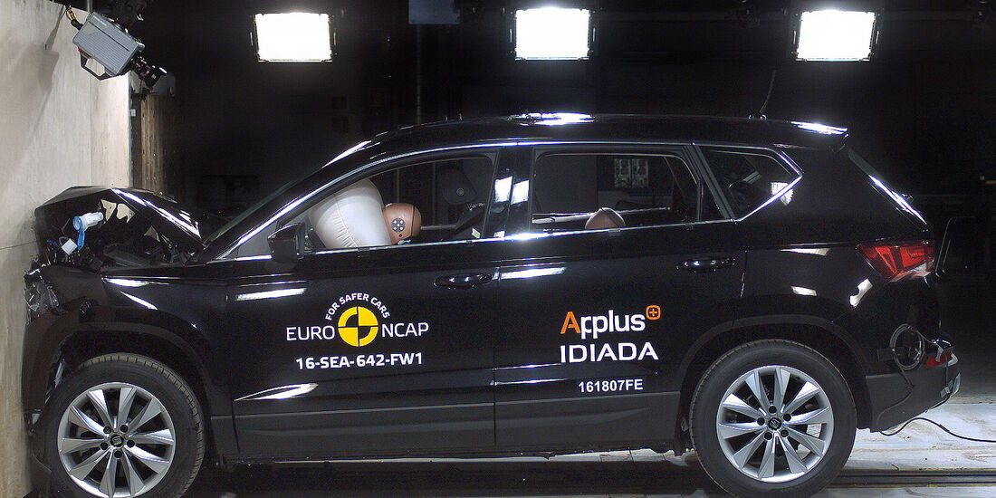EuroNCAP-Crashtest 2016 Seat Ateca