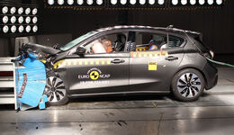 EuroNCAP Crashtest 2018 Ford Focus