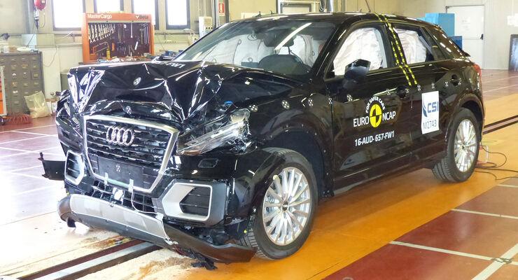 EuroNCAP Crashtest Audi Q2