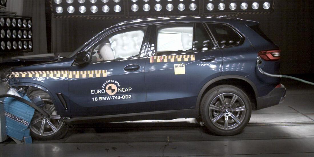 EuroNCAP Crashtest BMW X5
