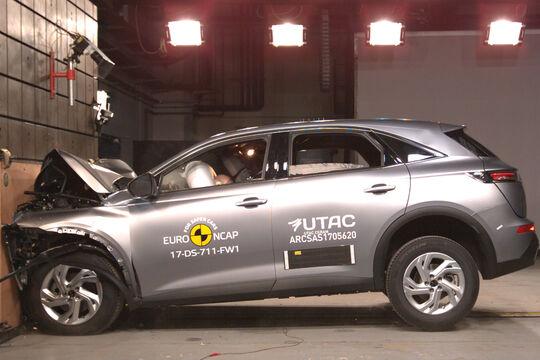 EuroNCAP Crashtest Citroen DS7 Crossback