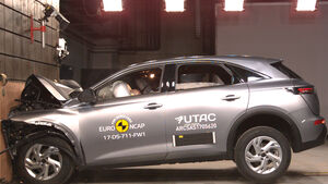 EuroNCAP Crashtest Citroen DS7 Crossback