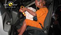 EuroNCAP-Crashtest, Ford C-Max, Fahrer-Crashtest
