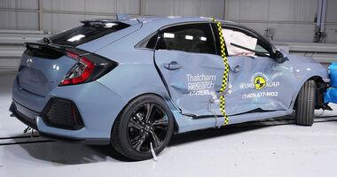 EuroNCAP Crashtest Honda Civic