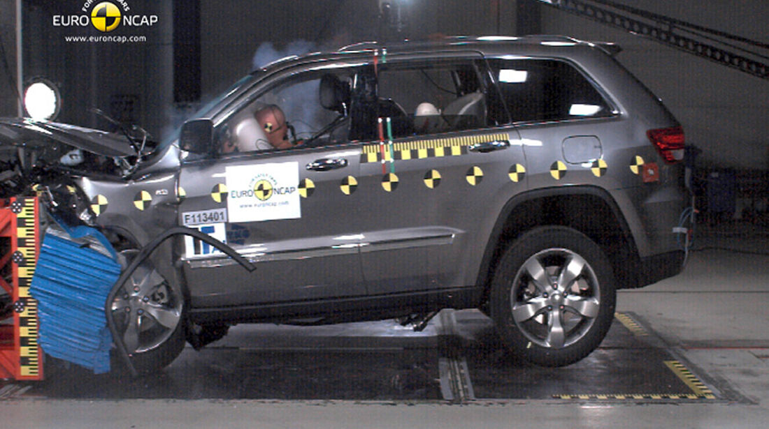 EuroNCAP-Crashtest Jeep Grand Cherokee