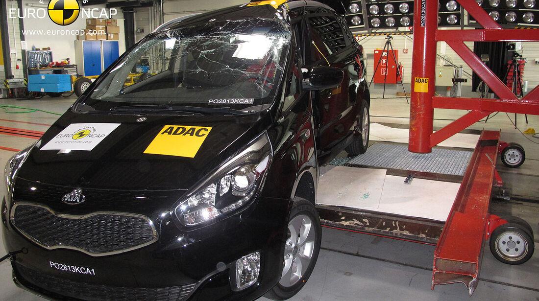 EuroNCAP-Crashtest Kia Carens