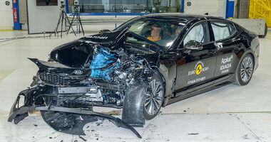 EuroNCAP Crashtest Kia Stinger