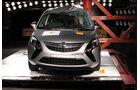 EuroNCAP-Crashtest Opel Astra Zafira
