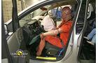 EuroNCAP-Crashtest, Opel Meriva, Fahrer-Crashtest