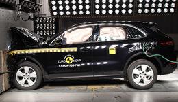 EuroNCAP Crashtest Porsche Cayenne