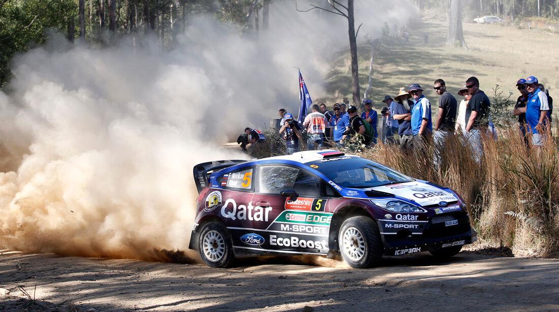 Evgeny Novikov - Rallye Australien 2013