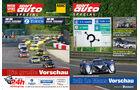 Extra-Beilage und sport auto-Zeitschrift 06-2011